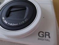 Ricoh GR Digital IV White Edition